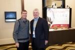 CSL Board member Chris Zane (right)
