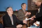 Symposium presenter Daryl Travis at a book signing