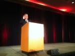 Jim Spohrer, IBM, welcomes the attendees