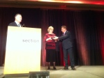 Mary Jo Bitner receives ISSIP Fellow award. What an exciting surprise!