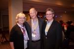Mary Jo Bitner with CSL Board Members, Steve Church, Avnet, (left) and Steve Brown (ASU)