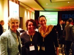 Alicia Holder with CSL Board Members Martha Huston, Cardinal Health, (left) and Tracy Tannenbaum, Banner Health (right)