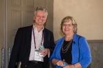 Mary Jo Bitner and speaker Joe Wheeler, The Service Profit Chain Institute