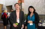 Mike Brown, founder of The Brainzooming Group, and Darima Fotheringham, CSL