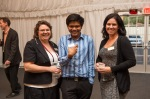 CSL Team at the networking reception